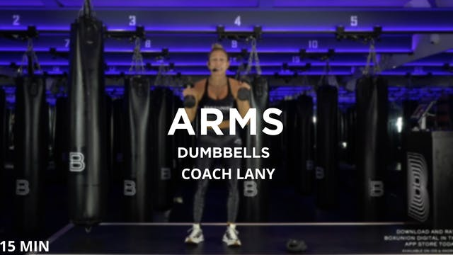15min Arms w/ Dumbbells