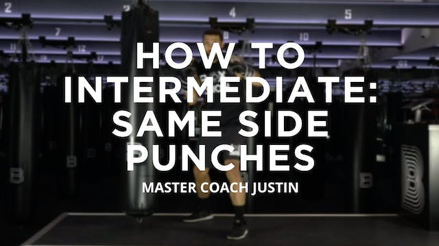 How To - Intermediate: Same Side Punches
