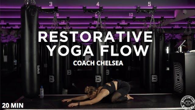 20min Restorative Yoga