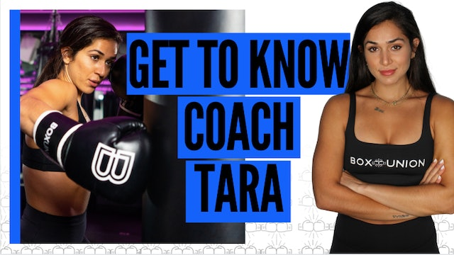 Get to Know Coach Tara