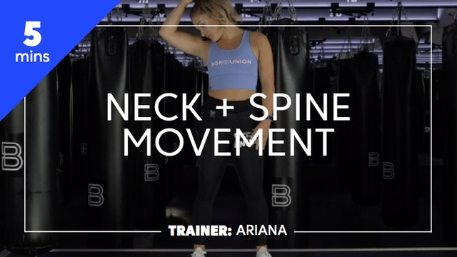 5min Neck & Spine Movements