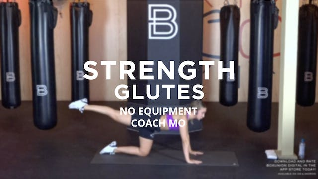 Strength - Glutes: No Equipment