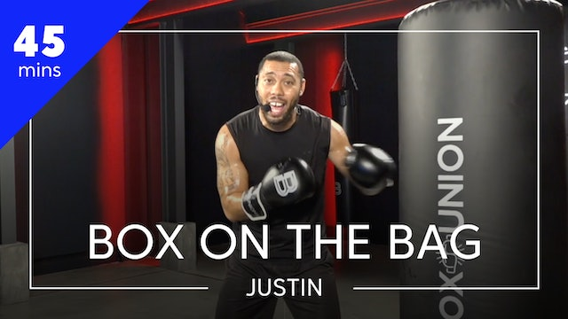 Encore Workout of the Week: Box on the Bag