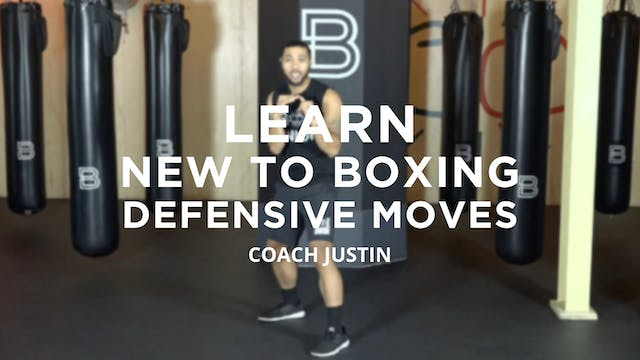Learn - New to Boxing: Defensive Moves