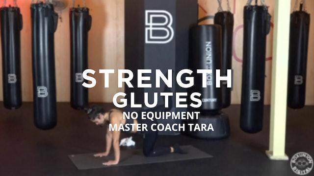 Strength - Glutes: No Equipment