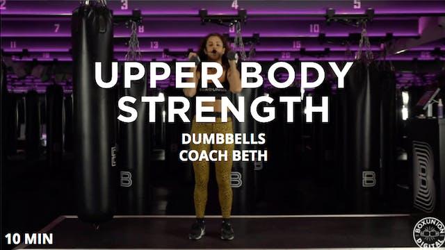 10min Upper Body Strength