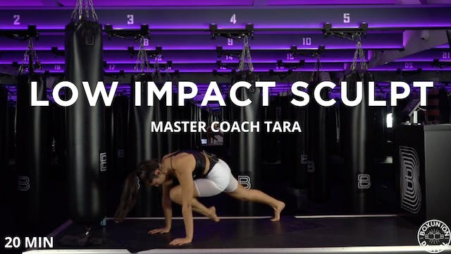 Abs Focused Low Impact Sculpt - 11/11...