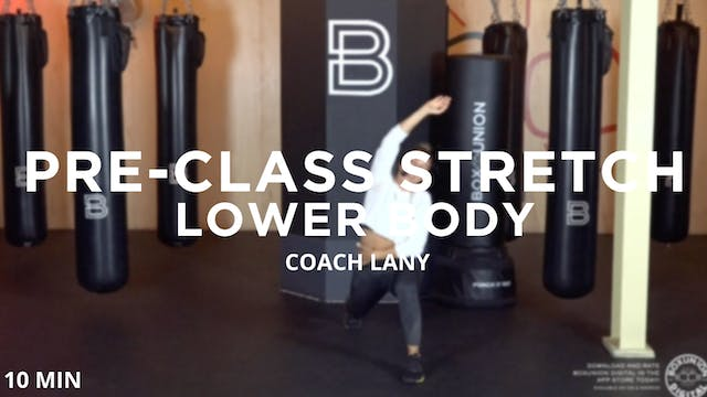 Pre-Class Stretch: Lower Body
