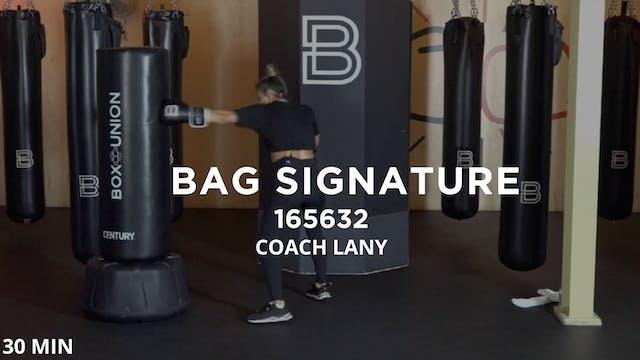 Bag Signature - 4/22/20