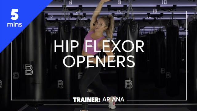 5min Hip Flexor Openers