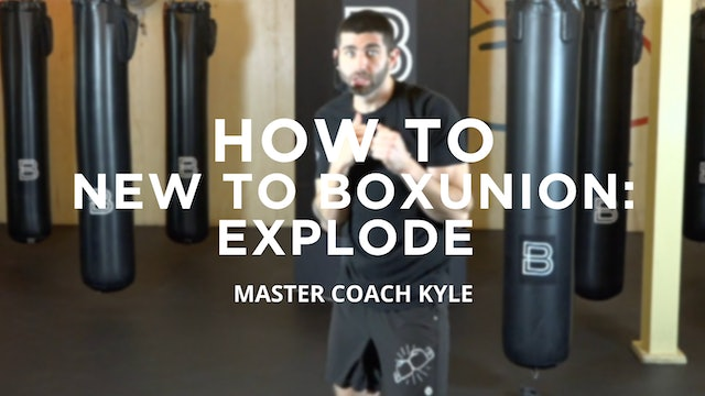 How To - New To BoxUnion: Explode