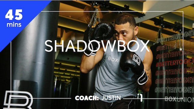 Shadowbox with Coach Justin