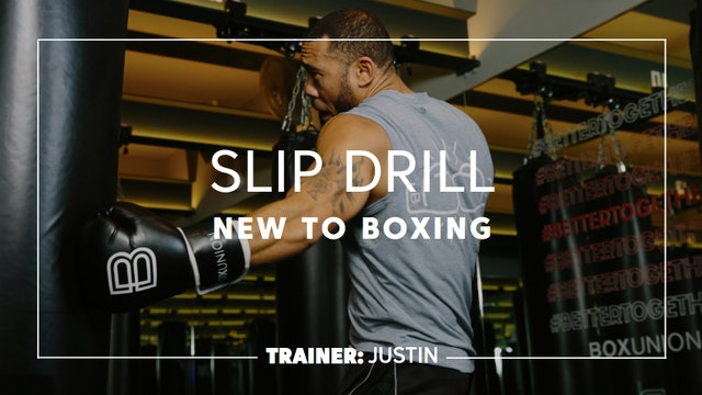 How To - New To Boxing: Slip Drill