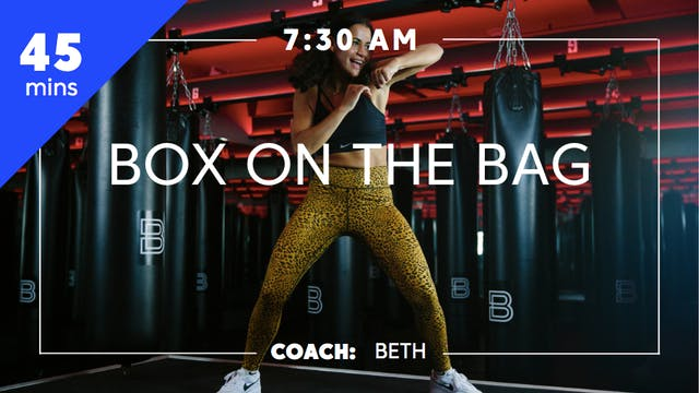Encore Box on the Bag with Coach Beth