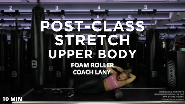 Post-Class Stretch: Upper Body