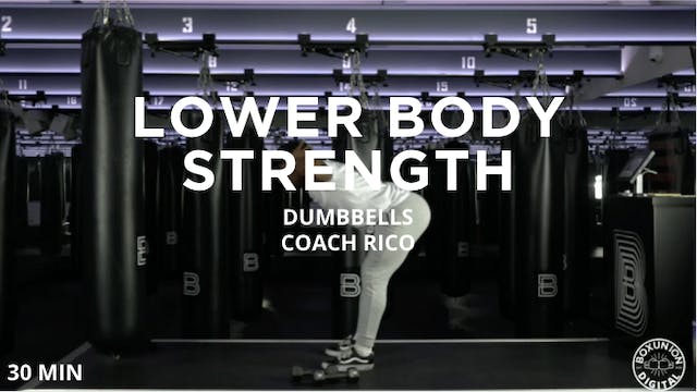 30min Lower Body Strength