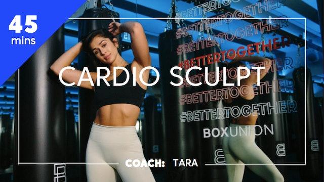 Cardio Sculpt with Coach Tara