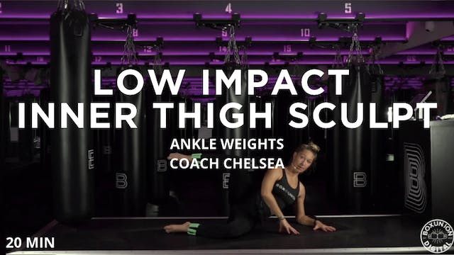 20min Low Impact Inner Thigh Sculpt