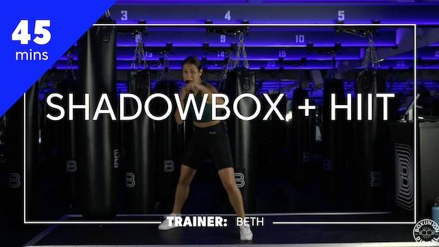 45min Shadowbox + HIIT