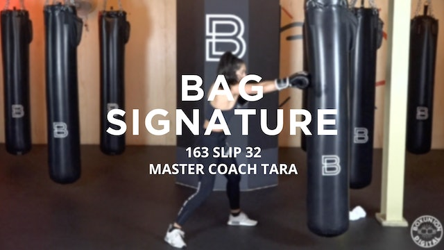 Bag Signature: 163 SLIP 32