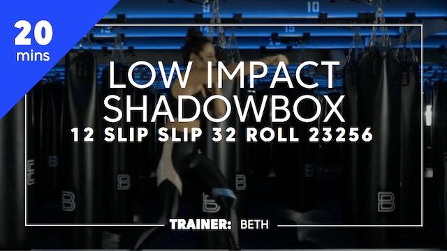 20min Low Impact Shadowbox