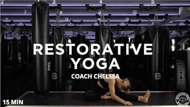 15min Restorative Yoga
