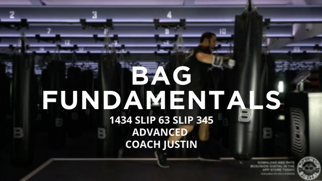Bag Fundamentals - Advanced: 1434 SLIP 63 SLIP 345