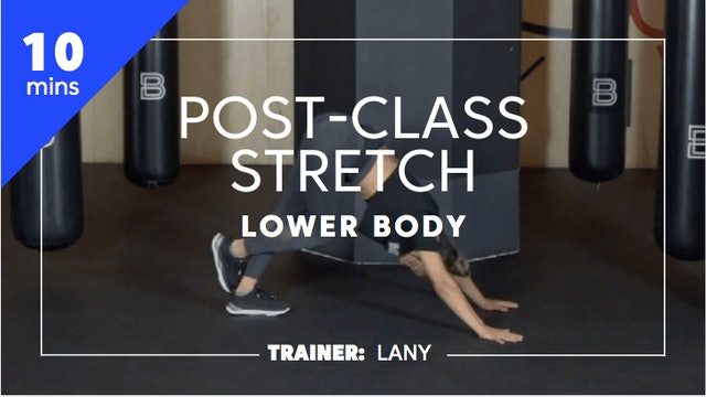 10min Post-Class Stretch - Lower Body