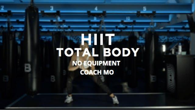 HIIT - Total Body: No Equipment