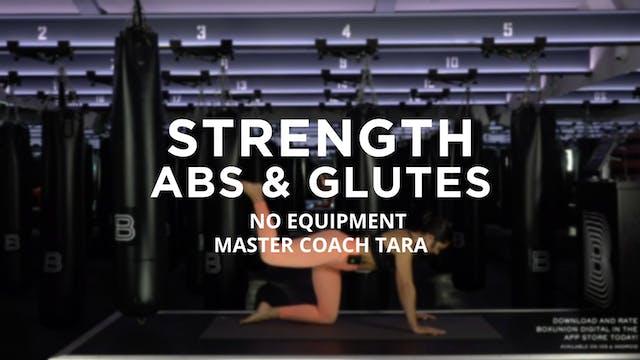 Strength - Abs & Glutes: No Equipment