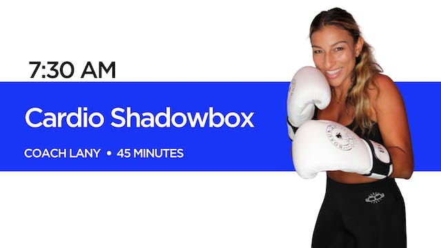 Cardio Shadowbox with Coach Lany - Part 2