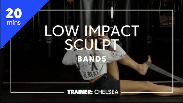 20min Low Impact Sculpt w/ Bands