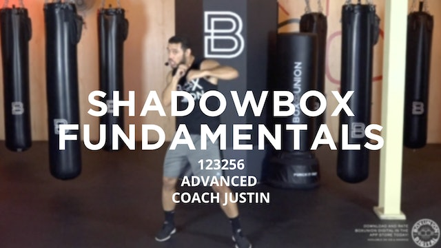 Shadowbox Fundamentals - Advanced: 123256