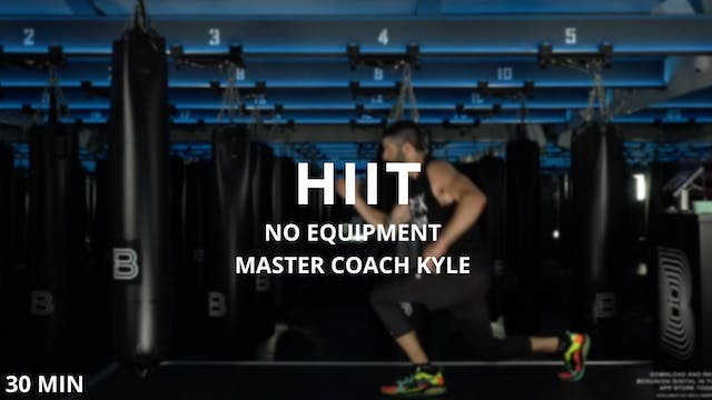 30min Bodyweight HIIT