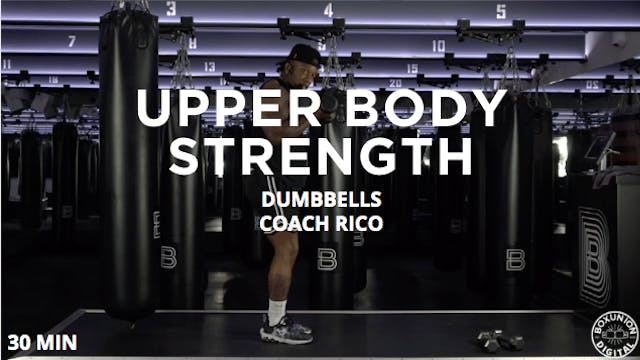 30min Upper Body Strength