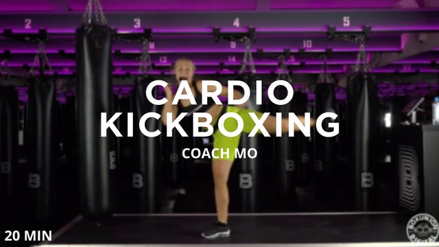 20min Cardio Kickboxing