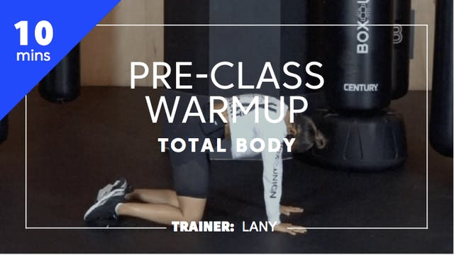 10min Pre-Class Warmup - Upper Body