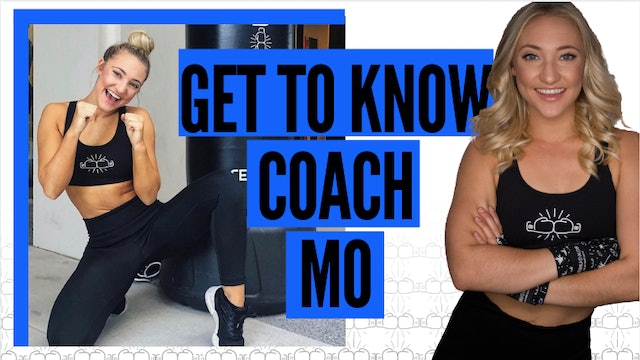Get to Know Coach Mo