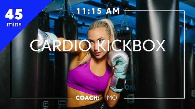 Cardio Kickbox with Coach Mo