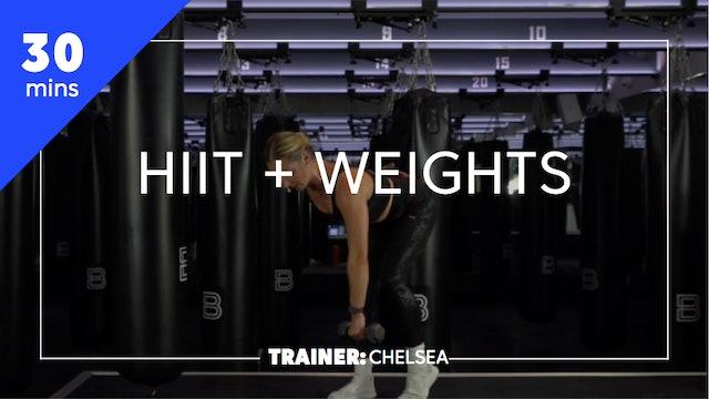 30min HIIT + Weights