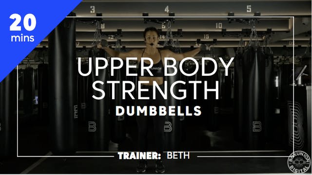 20min Upper Body Strength