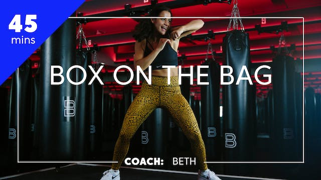 Box on the Bag with Coach Beth