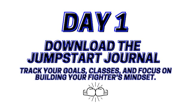 Jumpstart To Your Best YOU: Day 1