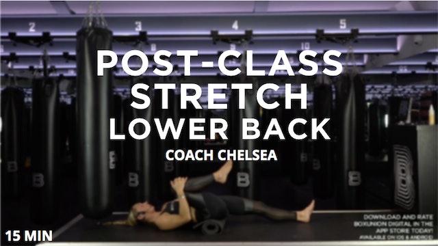 Post-Class Stretch - Back