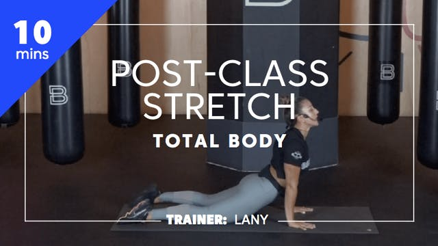 10min Post-Class Stretch - Total Body