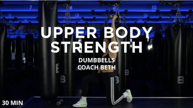 30min Upper Body Strength