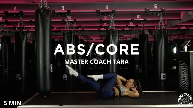 5min Abs/Core Burner