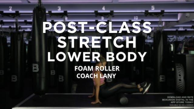 Post-Class Stretch - Lower Body: Foam...