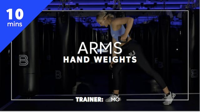10min Arms w/ Hand Weights