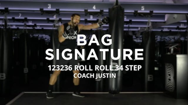 Bag Signature: 123236 ROLL ROLL 34 STEP